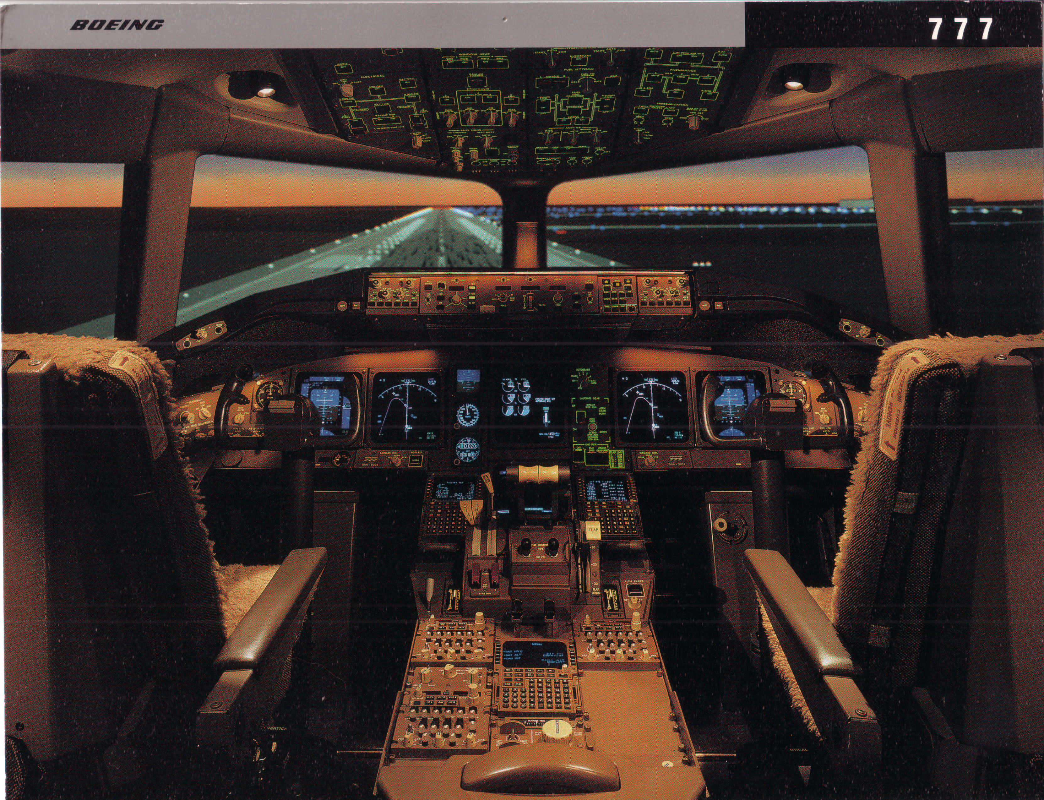 The Boeing 777 Flight Deck Video Arcade