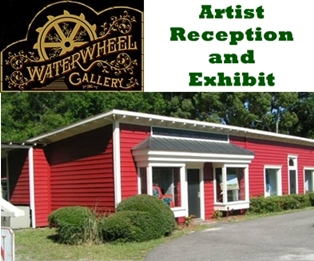 Artist Reception at Waterwheel Art Gallery