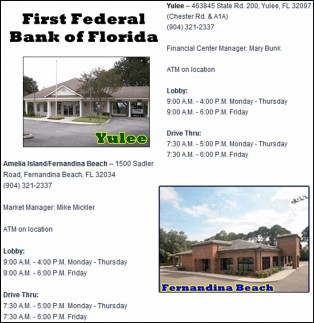 Free Checking at First Federal Bank of Florida