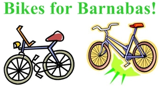 Adult Bikes for Barnabas
