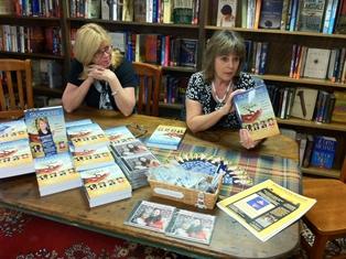 Deb Cottle at the Book Loft