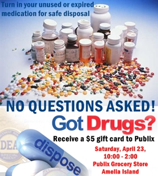 Fernandina Beach Drug Take Back Program