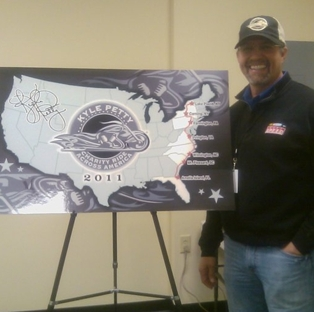 Kyle Petty Charity Ride Pledge Campaign