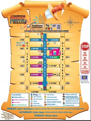 Shrimp Festival Map