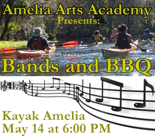 Bands and BBQ at Kayak Amelia