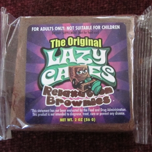 Relaxation Brownies Not Suitable for Children