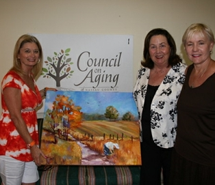 Artist Kathleen Maurer Donates to Council on Aging