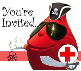 Fernandina Pirates Blood Drive is August 20th