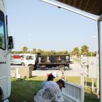 Amelia Island Blues Fest Grounds Prep