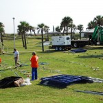 Amelia Island Blues Fest Grounds Prep