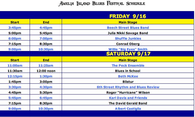 Final Line Up Schedule