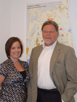 NCEDB's Steve Rieck and Nicole White