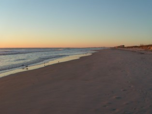 Sunrise over Amelia Island Beach