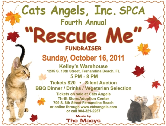 Cat's Angels Rescue Me Fundraiser