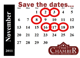 November Events AIFBY Chamber of Commerce