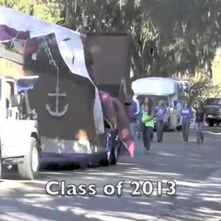 2011 Fernandina Beach Homecoming Parade