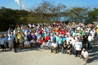 Petanque America Amelia Island 2011 Group Photo