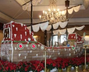 Ritz Carlton Amelia Island Holiday Lobby Decoration