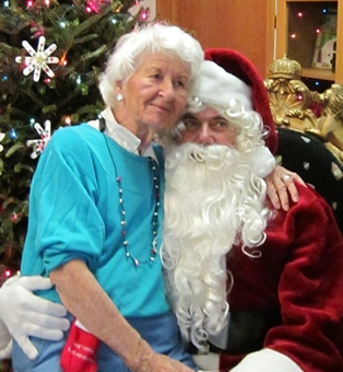 Council on Aging Celebrated the Holidays