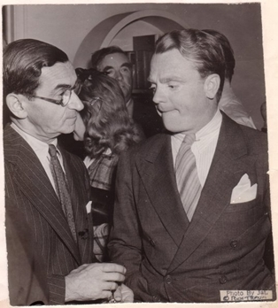 Irving Berlin and James Cagney