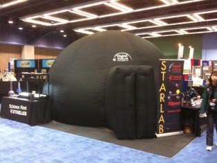 Starlab Planetarium on Seattle NSTA show