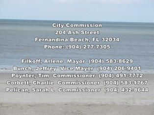 Fernandina's Amended Commission Meeting Agenda for January 17, 2012