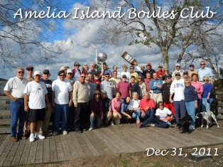 Happy New Year from the Amelia Island Boule Club