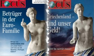 searchamelia.com: German press about Greece