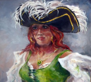 A Pirate Portrait by Paul Massing - Searchamelia.com