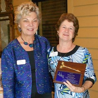 Micah's Place Recognizes Elaine Coats as Past Board President