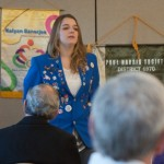 Exchange Student Talks to Rotary Sunrise