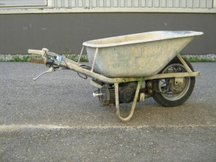 searchamelia.com - Motorized Wheelbarrow