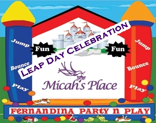 Party and Play Sponsors Micah's Place Leap Day Celebration