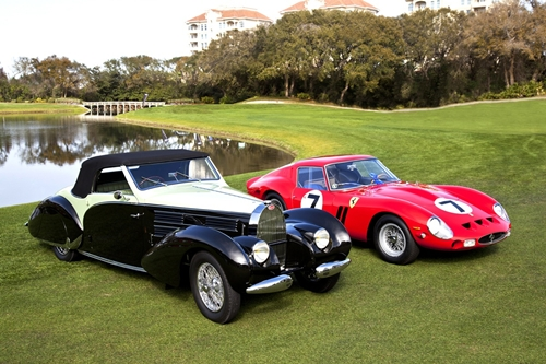 1938 Bugatti and 1962 Ferrari Win Big at The Amelia