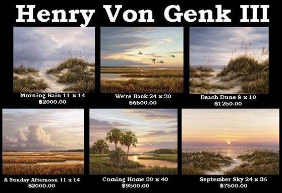 Henry Von Genk III at the Waterwheel Art Gallery