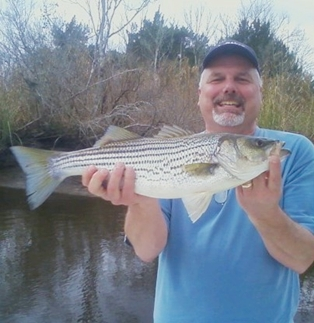 Lofton Creek Striper Boats Happy Fisherman