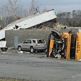 Surviving the Henryville Tornado