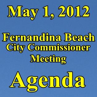 May 1st Fernandina Commissioner Meeting Agenda