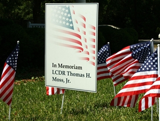 Golf Tournament Includes Field of Honor