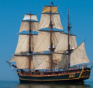 HMS Bounty Comes to St. Augustine