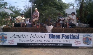 Beech Street Blues Band in Shrimpfest Pirate's Parade