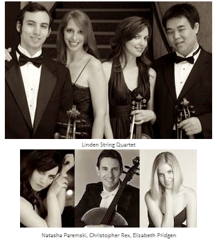Chamber Music Festival Event, Music of Passion and Fire