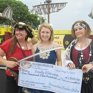 2012 Fernandina Pirate Club scholarship