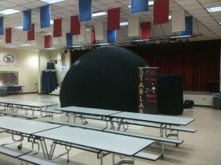Starlab Planetarium at Yulee Elementary