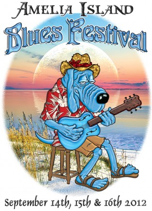 T-Bone the Amelia Island Blues Fest Mascotte