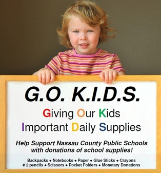 School Supplies Needed in Nassau County