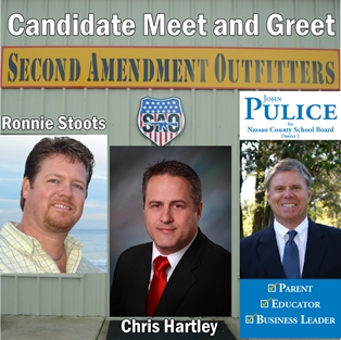 Political Meet and Greet at Second Amendment Outfitters