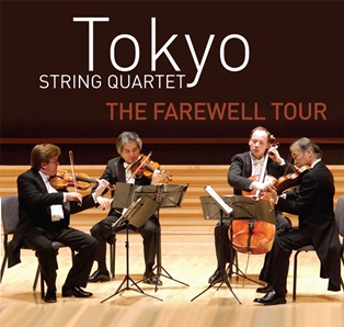 Tokyo String Quartet Includes Amelia's Chamber Music Fest in Farewell Tour