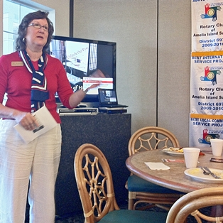 Museum of History Speaks to Sunrise Rotary