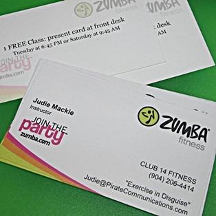Mackie's Zumba Fitness Anniversary Party